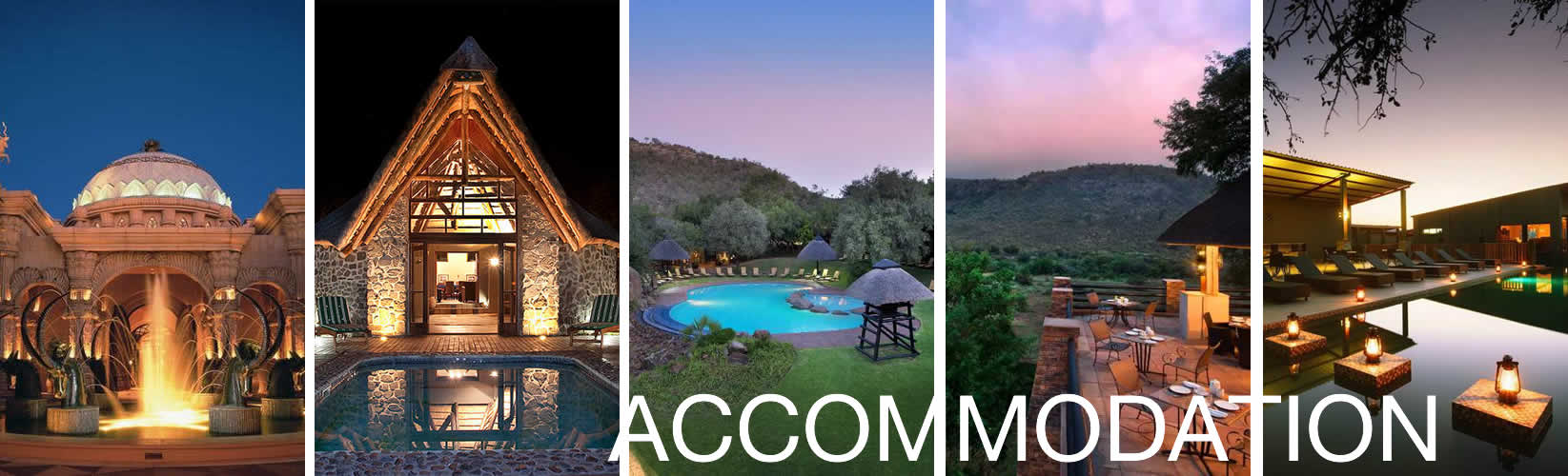 Pilanesberg National Park accommodation