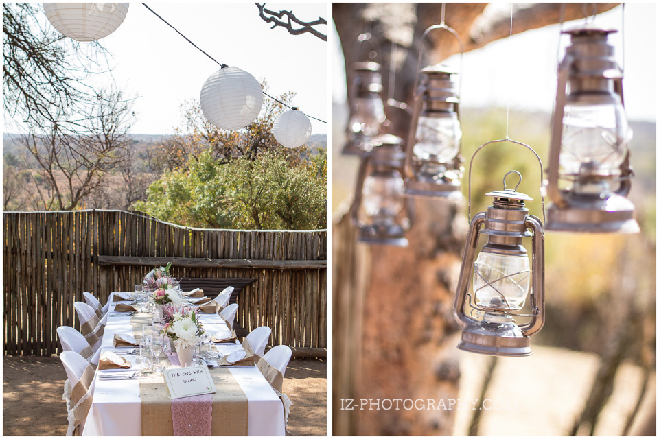 Opt for a natural, rustic wedding venue if that's your style